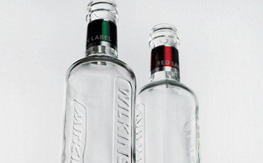 Wilkinson bottle design