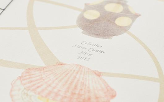 Collection Haute Cuisine Hiver 2015