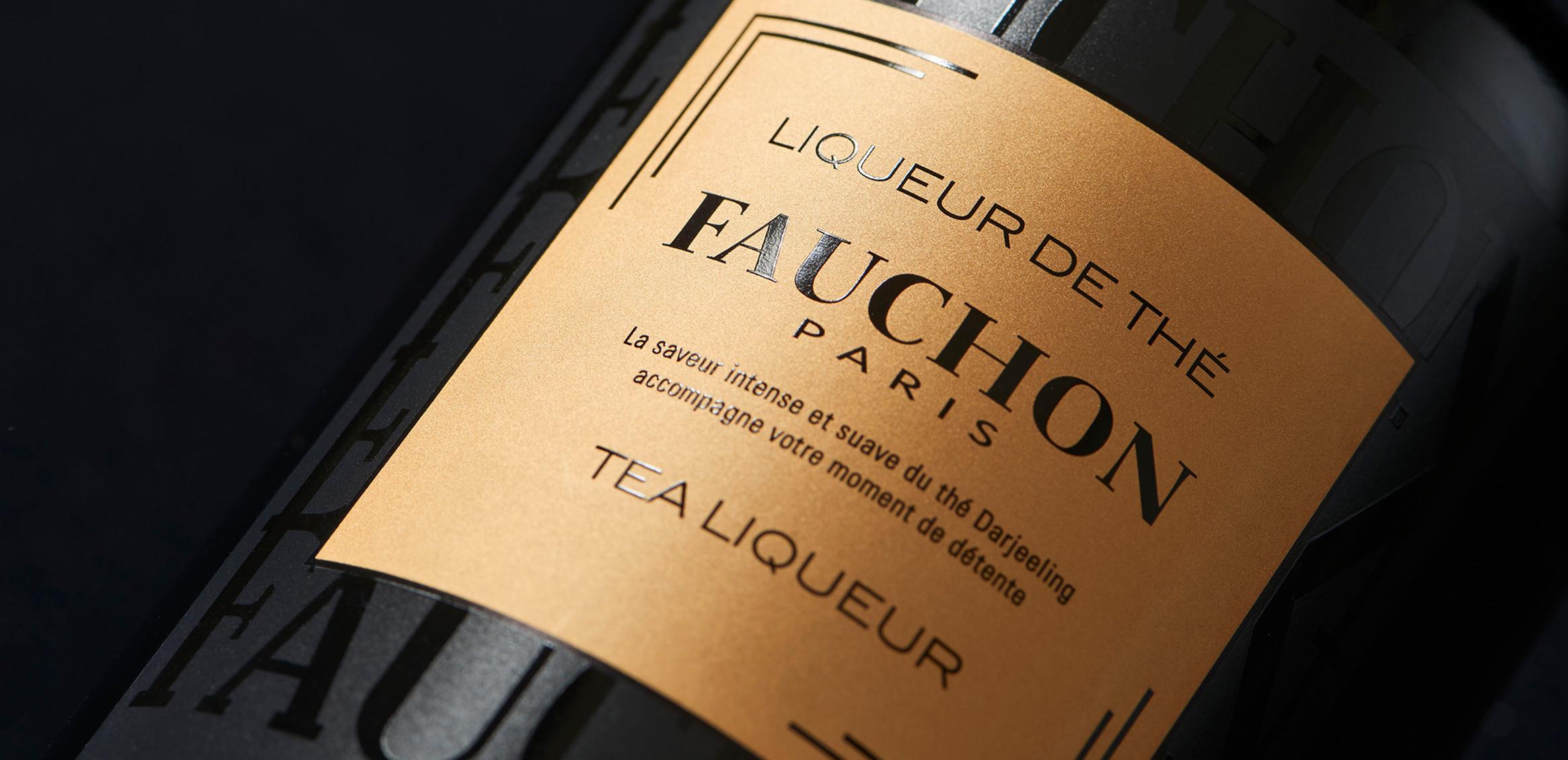 FAUCHON Tea Liqueur2枚目