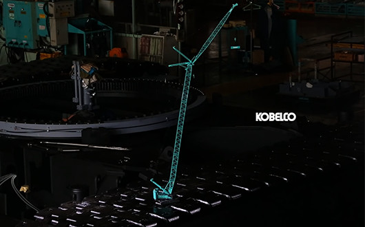 KOBELCO SCALE MODEL 1:50