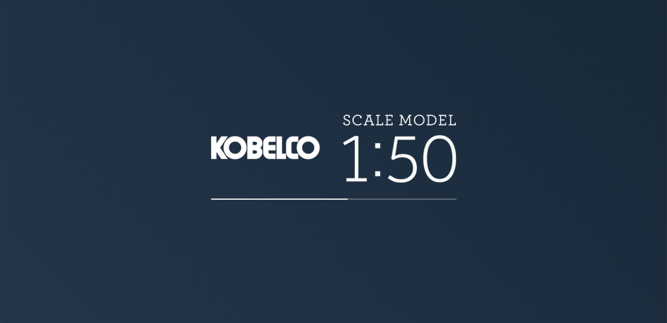 KOBELCO SCALE MODEL 1:500枚目