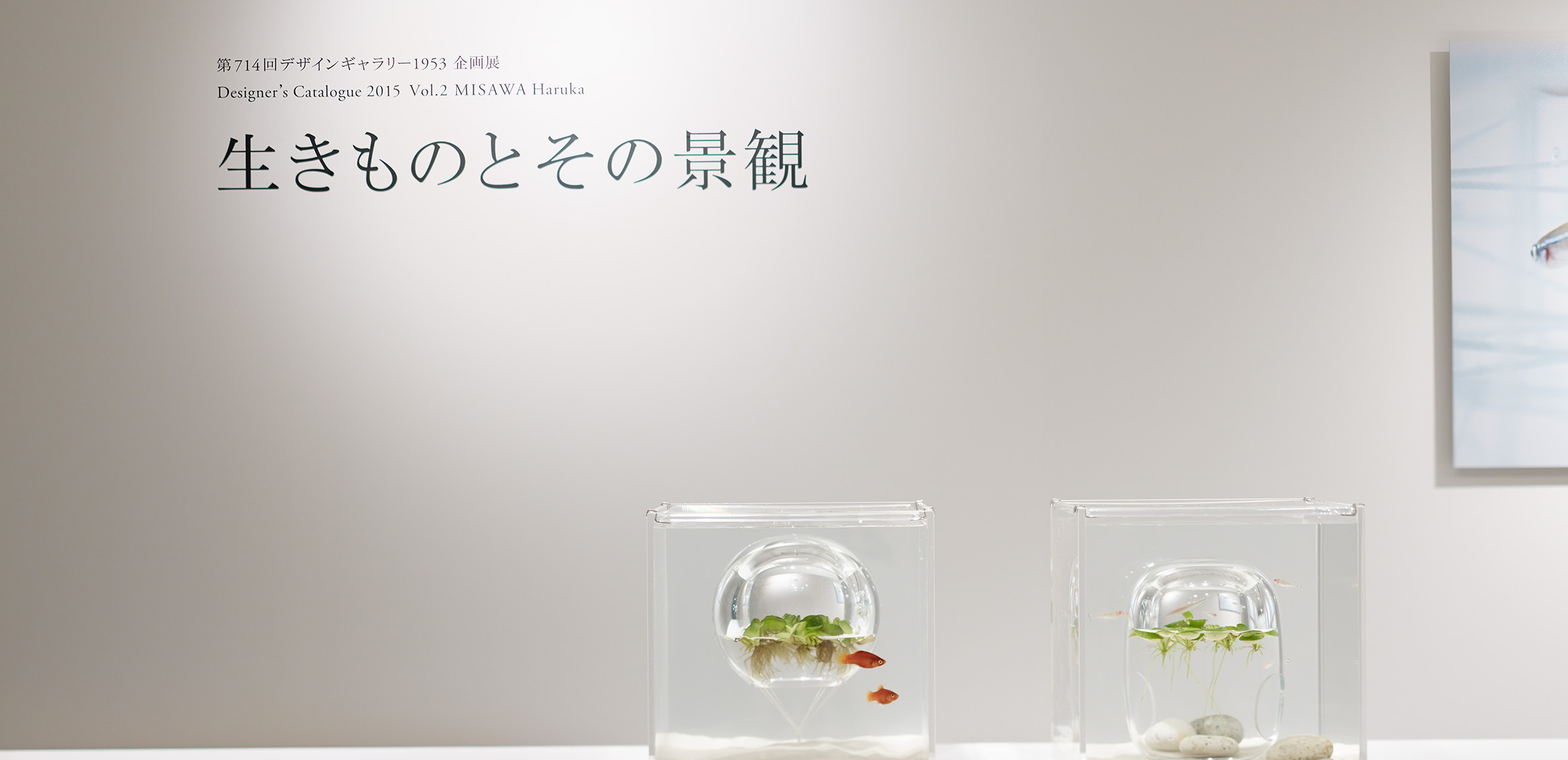 """Living Creatures and Scenery"" exhibition at Design Gallery 19530枚目"