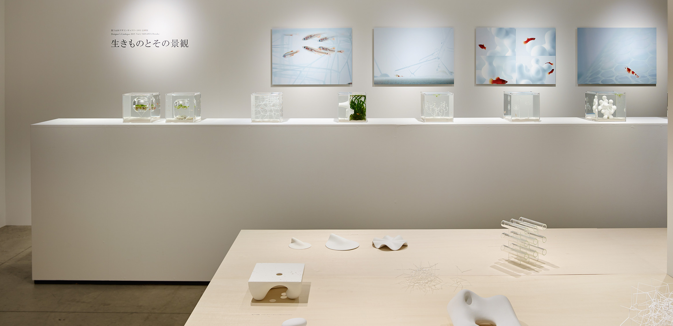 """Living Creatures and Scenery"" exhibition at Design Gallery 19531枚目"
