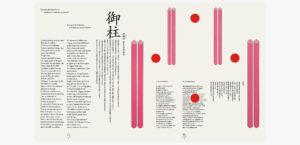 長野冬季オリンピック 開・閉会式プログラムデザイン3枚目サムネイル