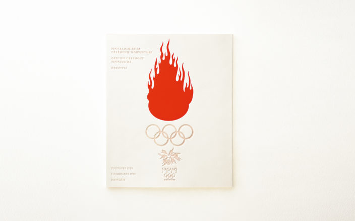 Nagano Winter Olympics<br /> Opening and closing ceremony program design