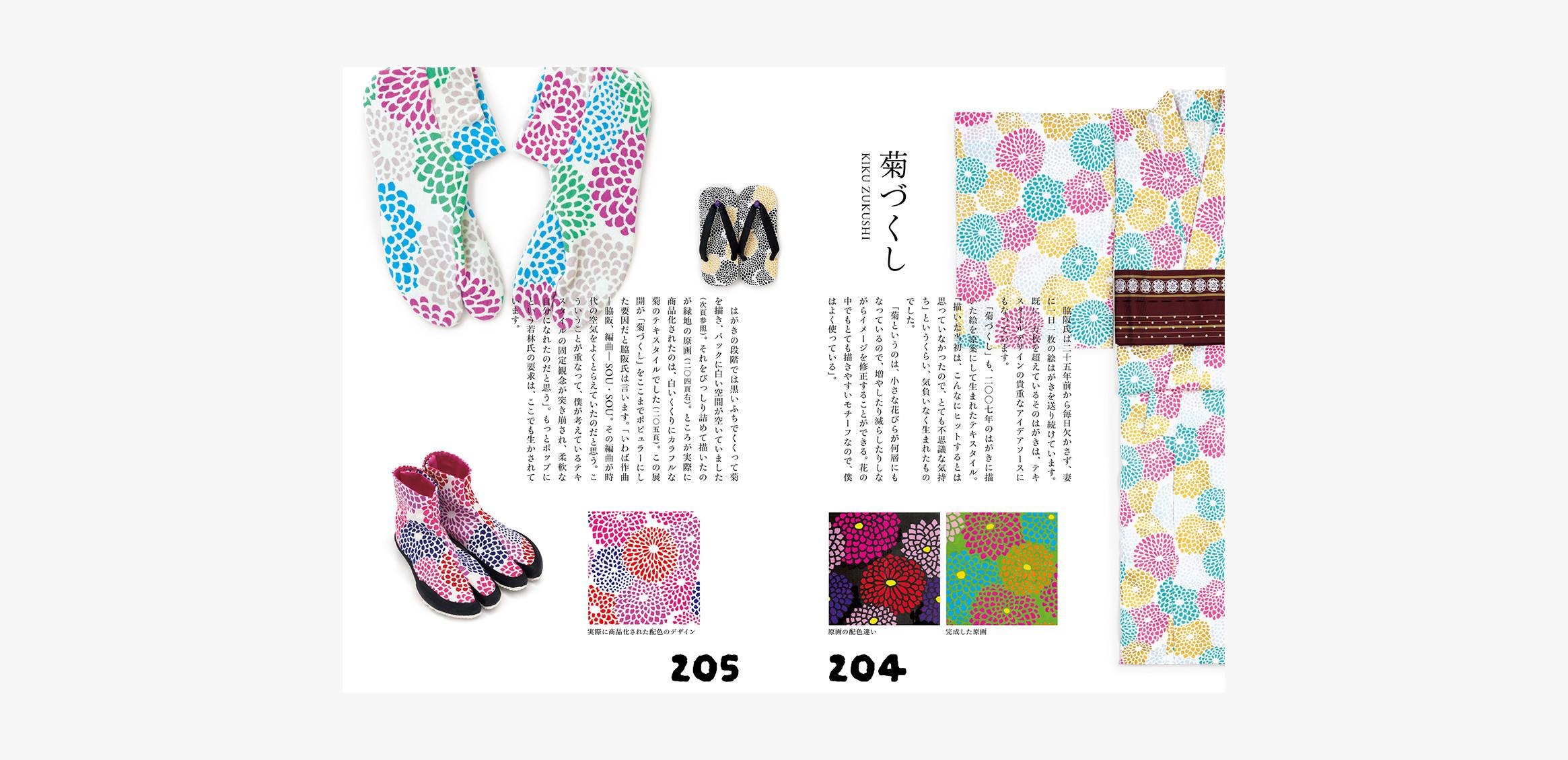SOU・SOUの名物裂 −テキスタイルデザイン手帖−5枚目