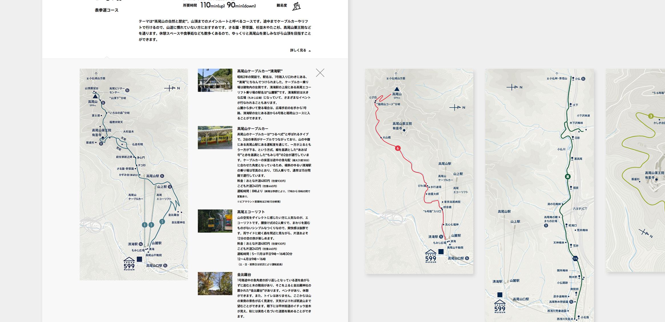 TAKAO 599 MUSEUM Web4枚目