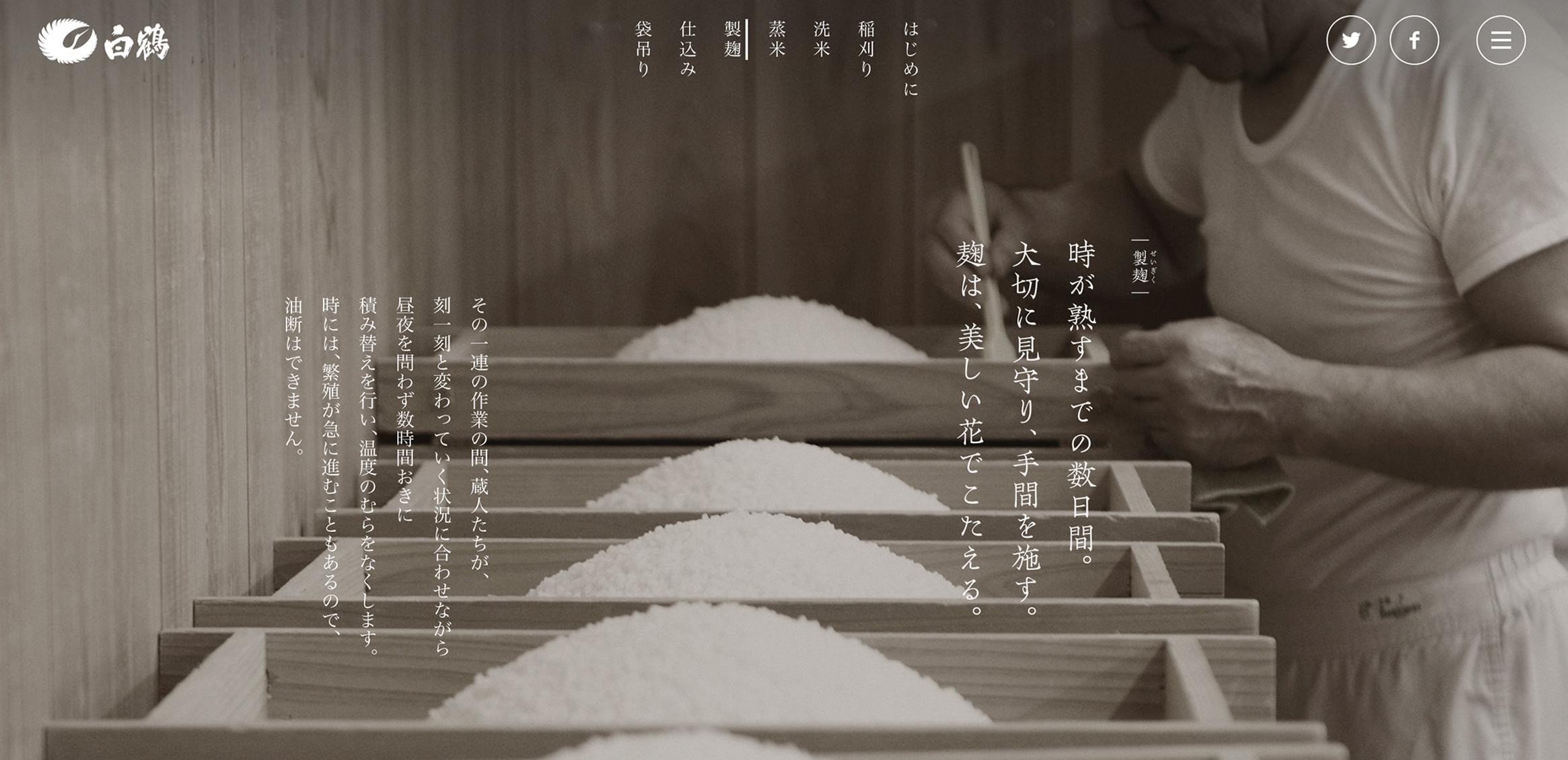 超特选白鹤天空袋滤纯米大吟酿山田锦/白鹤锦4枚目