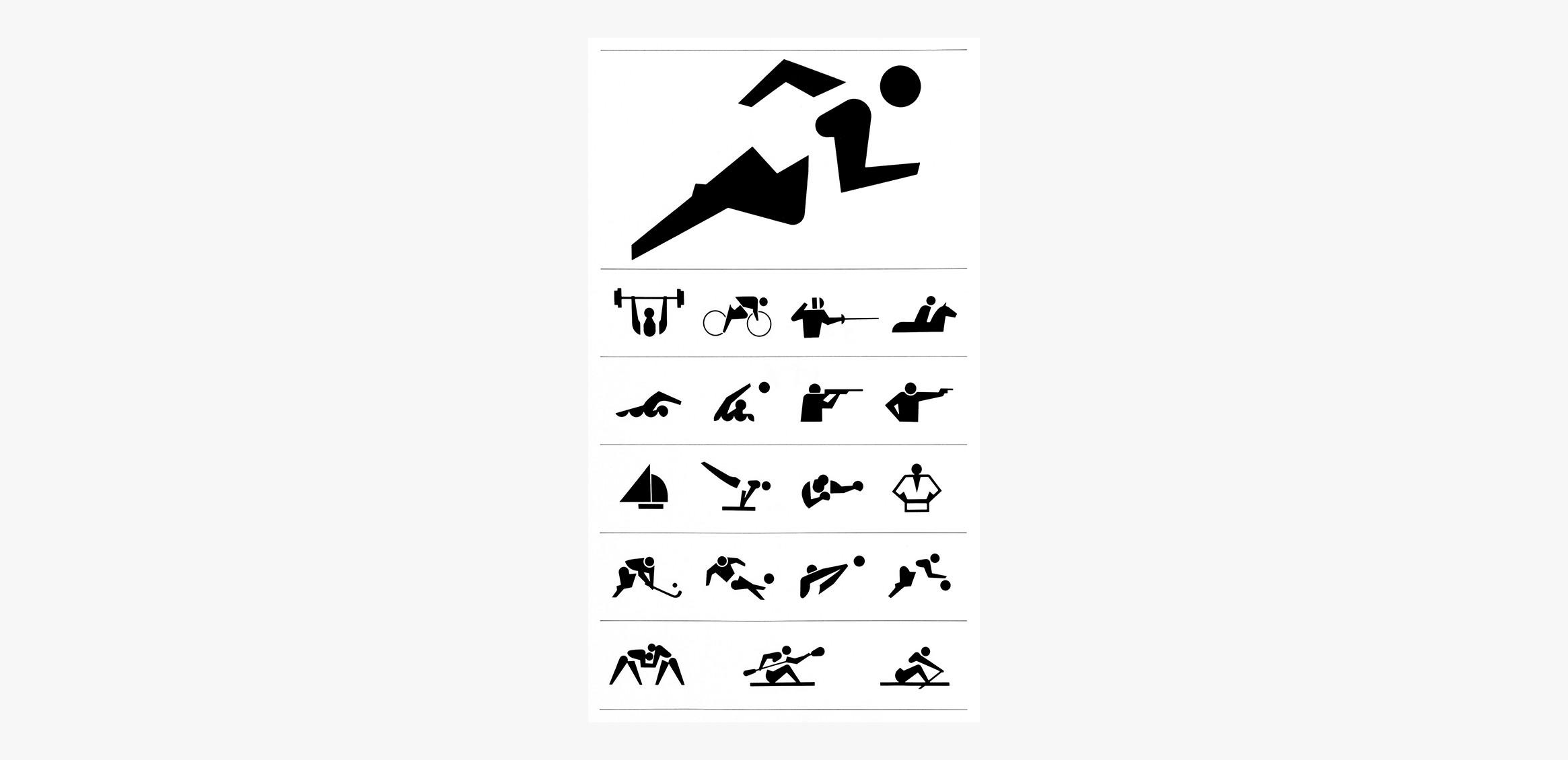 '64 東京オリンピック 競技シンボル、入場券0枚目