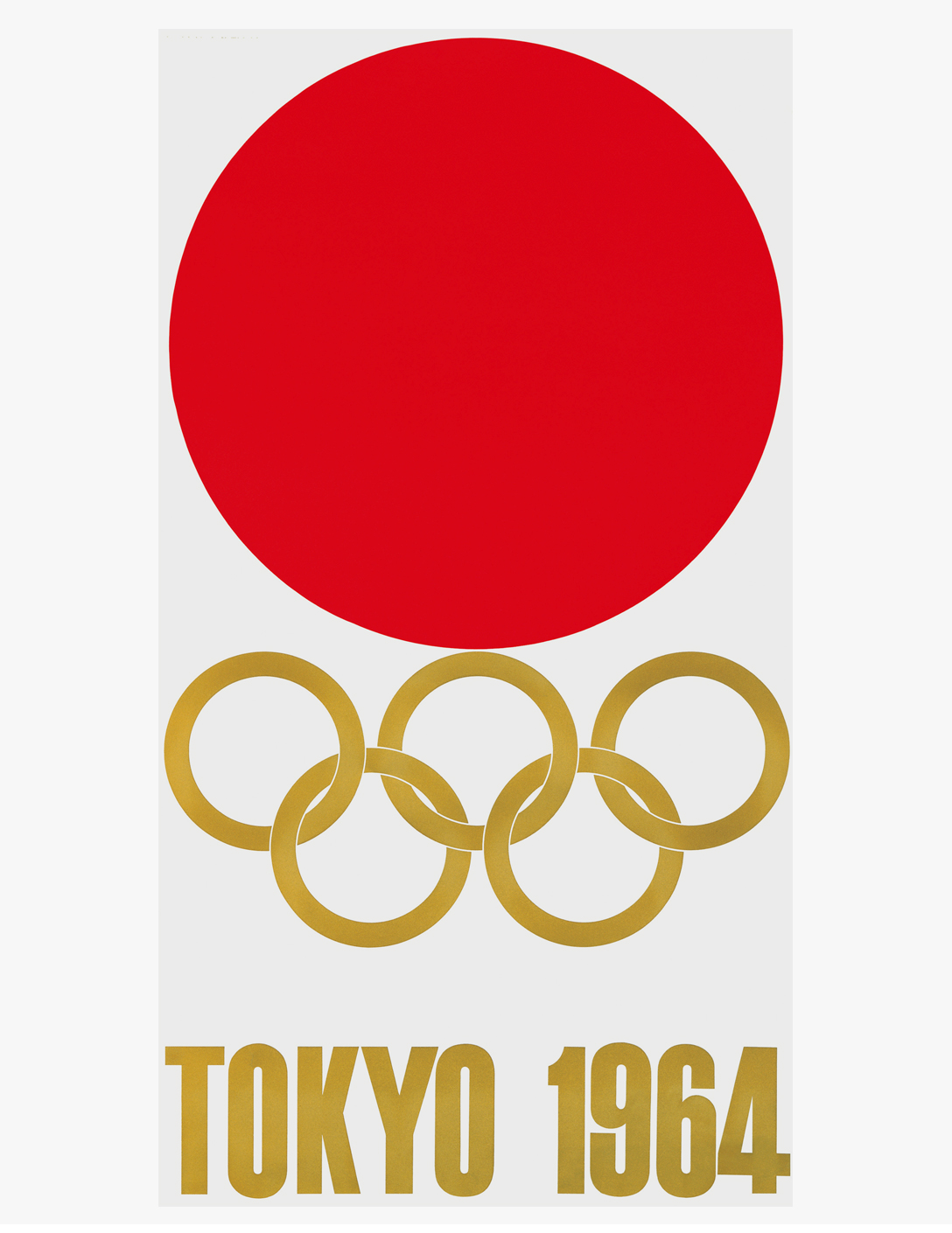'64 東京オリンピック 第1号ポスター・ロゴマーク