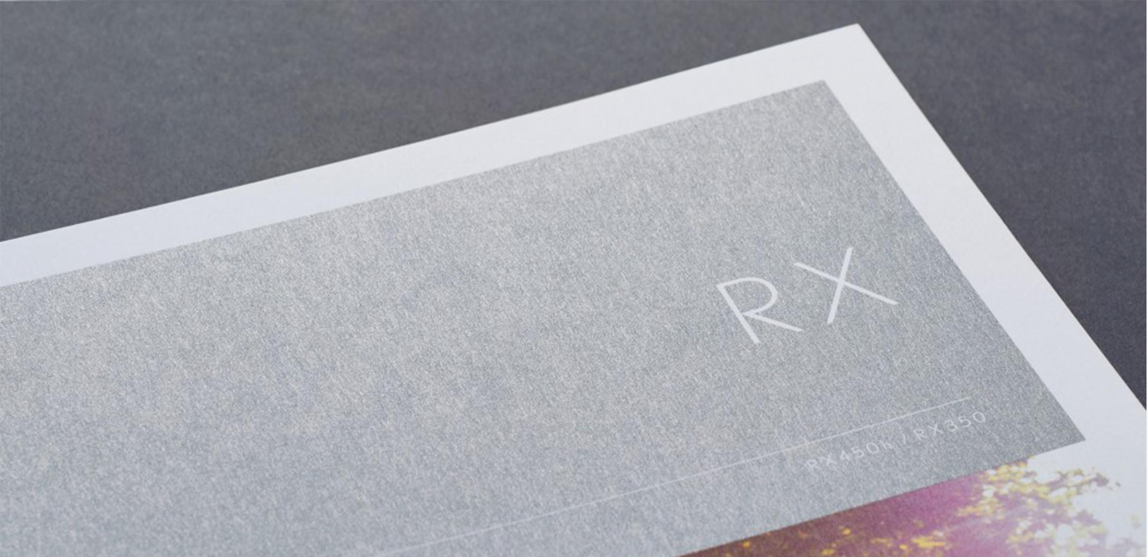 LEXUS RX 海外向けカタログ0枚目