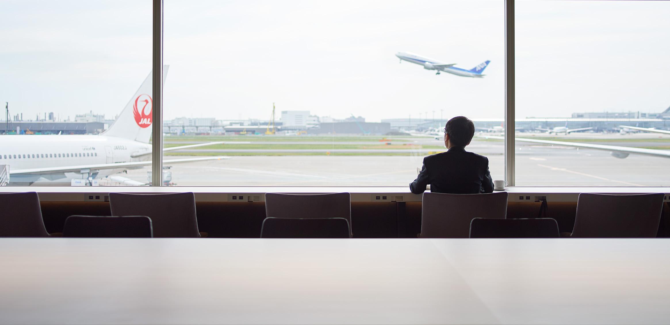 Haneda Airport POWER LOUNGE4枚目