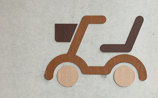 美波町医疗保健中心 标识设计