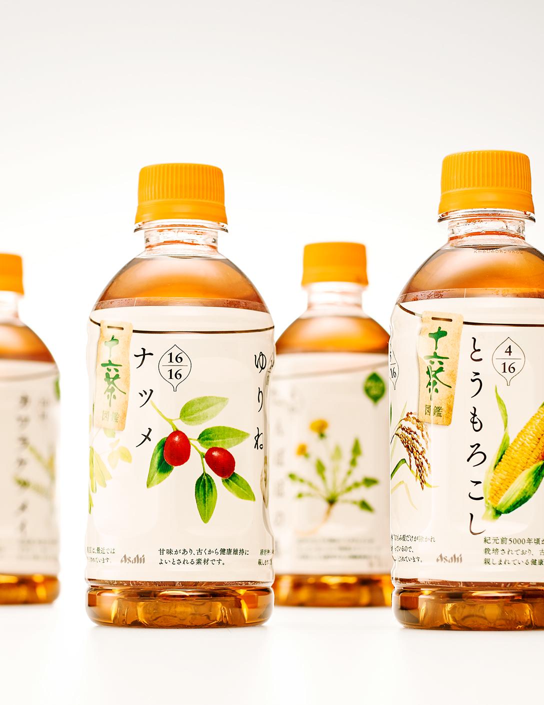 十六茶 LOHACO限定版瓶装设计