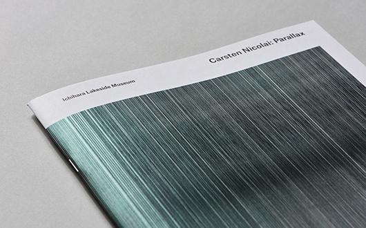 『Carsten Nicolai: Parallax』展覧会カタログ