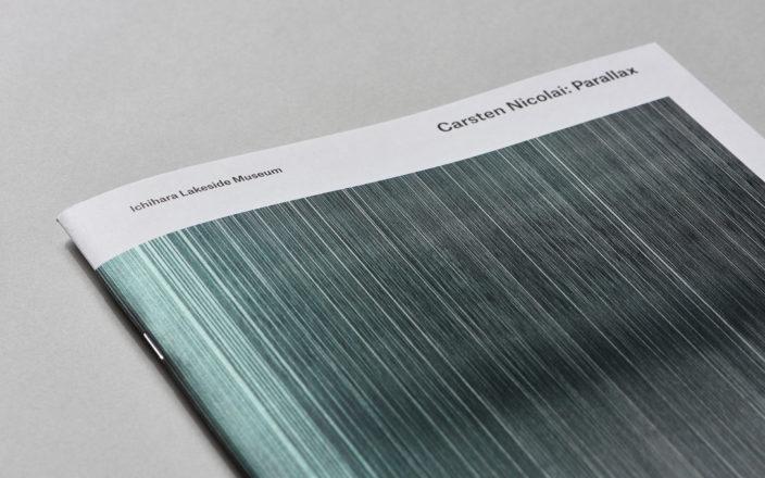 """Carsten Nicolai: Parallax"" Exhibition Catalog"