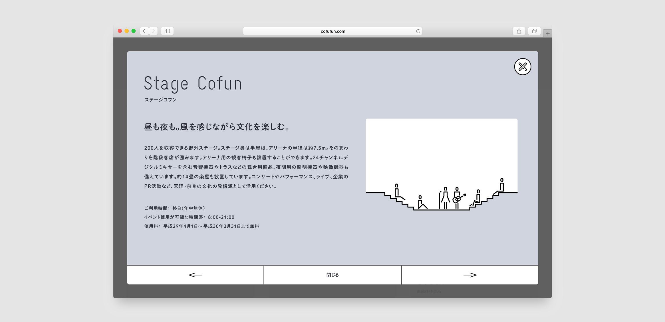 CoFuFun Web / Signage1枚目