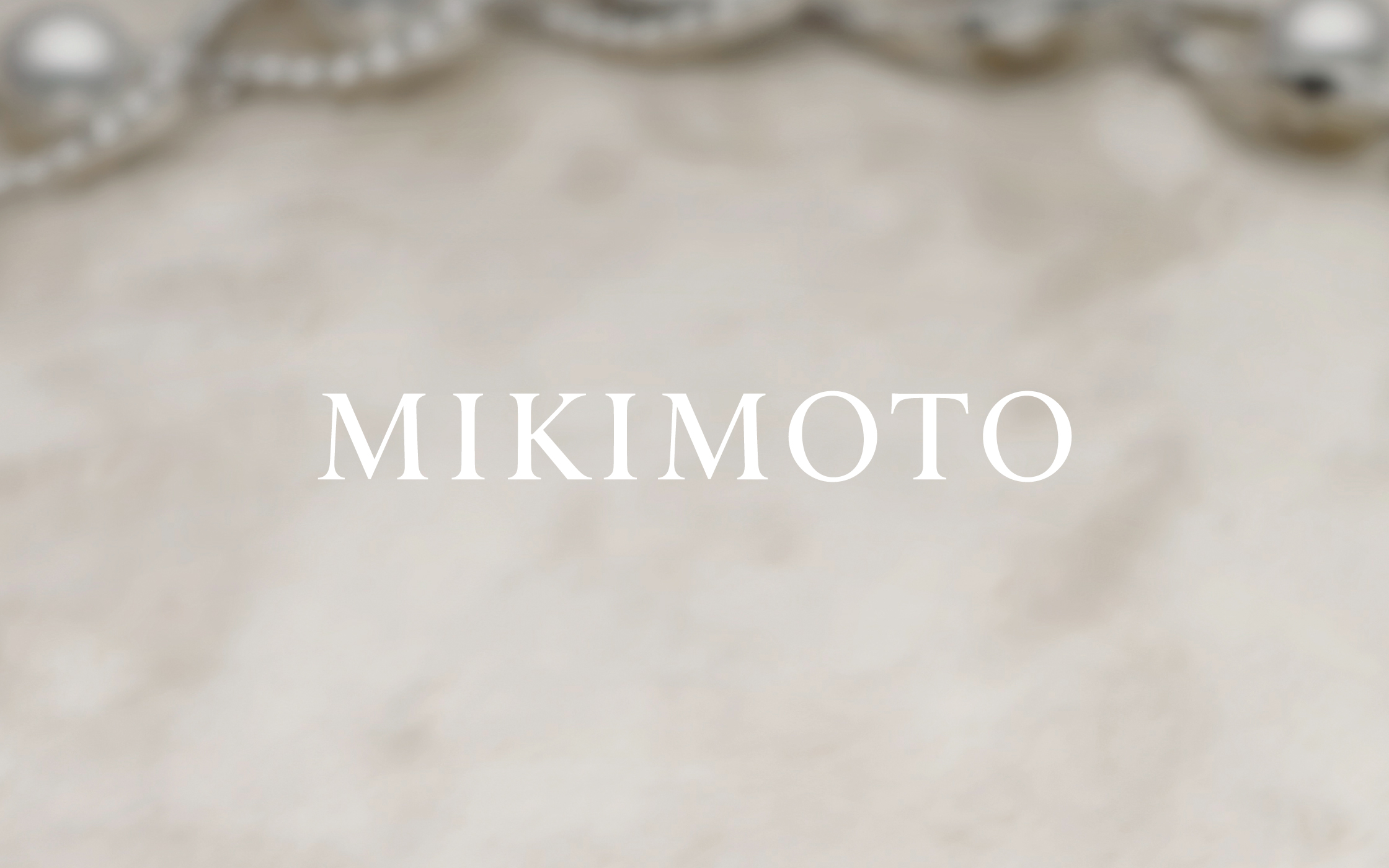 MIKIMOTO | Nippon Design Center