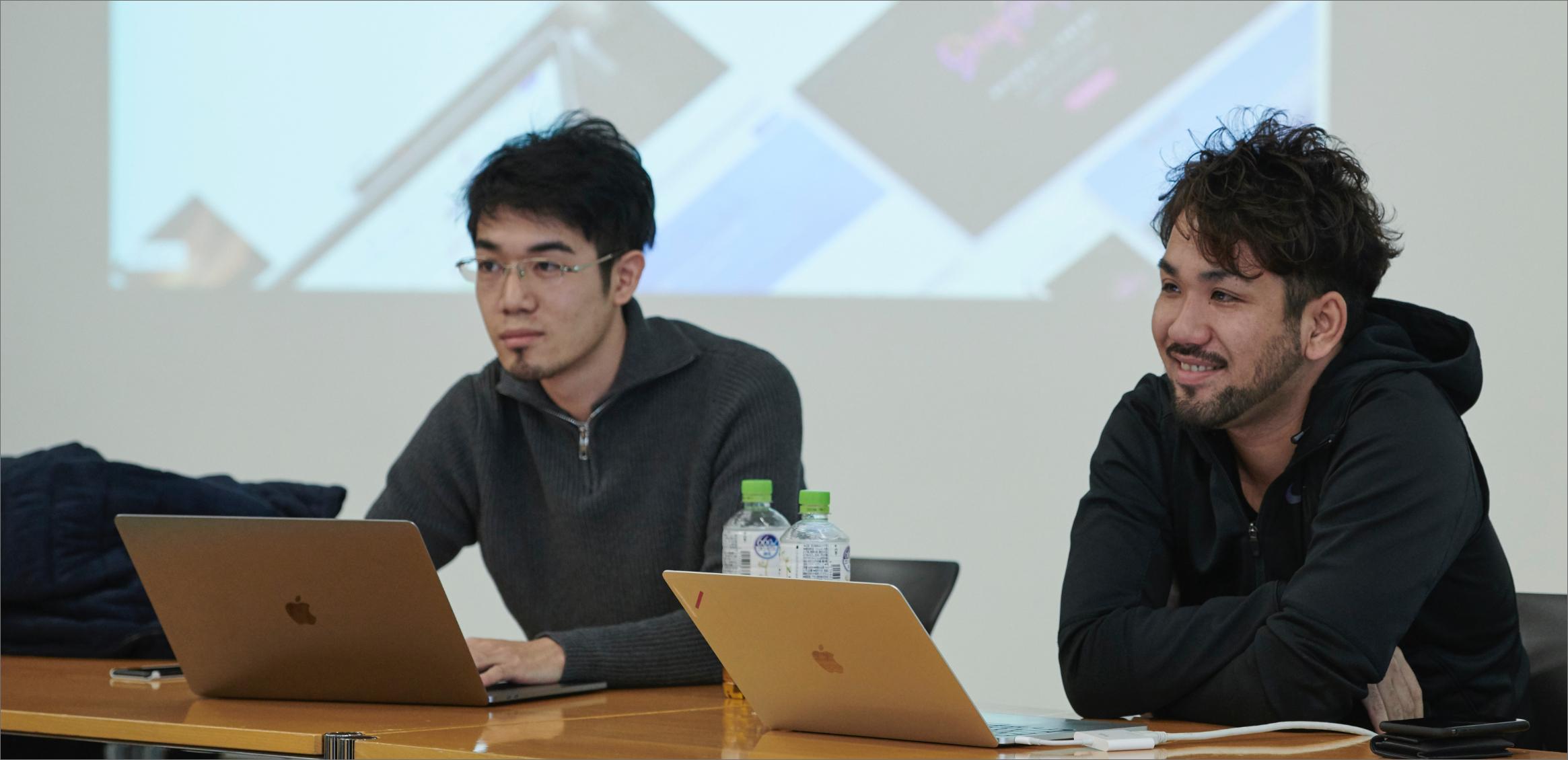 石井穣   STUDIO株式会社 CEO/Design Chief 甲斐啓真 STUDIO株式会社 CPO/Founder