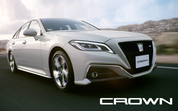 TOYOTA CROWN TVCF 「Born to Run」