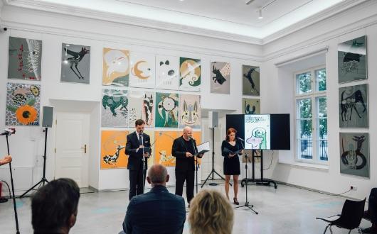 永井一正が、第27回ワルシャワ国際ポスタービエンナーレ展で「ヨゼフ・ムロシチャク特別功労賞」を受賞